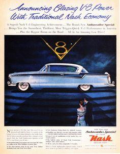 1956 Nash Ambassador Special Country Club Hardtop | Flickr - Photo Sharing!