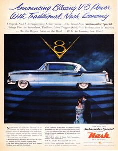 1956 Nash Ambassador Special Country Club Hardtop | Flickr - Photo Sharing!