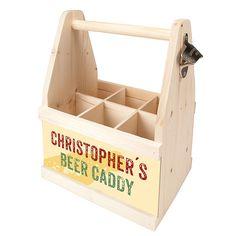 Bier Caddy - ein Bier Geschenk für Männer . Bier Caddy - ein Geschenk für echte Kerle.