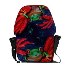 Green On Red Commuter Bag $111.00