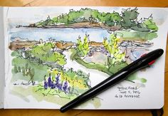 Sketchbook Wandering : Watercolor