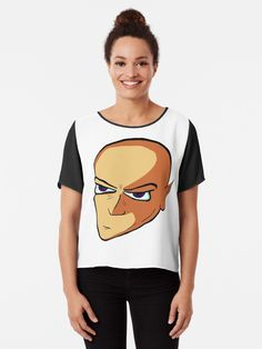 """Drawing of a man with elf ears"" T-shirt by tuneoperator | Redbubble Elf Ears, Chiffon Tops, Drawings, T Shirt, Stuff To Buy, Women, Fashion, Supreme T Shirt, Moda"