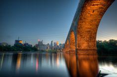 Stone Arch Bridge, MPLS