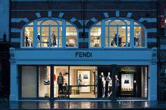 New shop Fendi in London