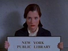 Parker Posey in Party Girl...a great movie