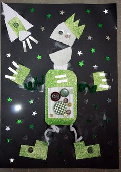 collage robots- fun!