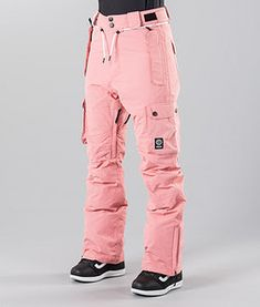 Dope Iconic W 18 Skidbyxa Pink - Ridestore. Snowboard Pants, Ski Pants, Pants For Women, Jackets For Women, Women's Jackets, Winter Jackets, Snowboarding Women, Snowboarding Outfit, Streetwear Online