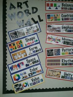 Having a word wall reinforces vocabulary being taught in class and great for vocab reviews!