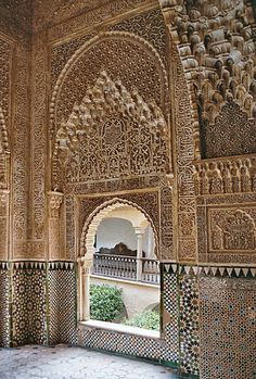 Andalusie Architecture Islamic Architecture, Beautiful Architecture, Art And Architecture, Granada, Andalusia, First Photo, Monuments, Wonderful Places, Strand