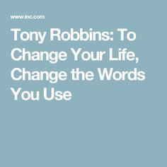 Tony robbins how to build self confidence tony robbins for Tony robbins tattoo