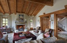 INTERIOR DESIGN ∙ CHALETS ∙ Swiss Chalet  - Todhunter Earle