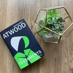 We're admiring our book date, THE TESTAMENTS by Margaret Atwood. Return to Gilead in this riveting sequel to the THE HANDMAID'S TALE, where three women come to terms with who they are and how far they'll go for what they believe.