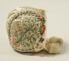 Date: 18th century Culture: French Medium: silk Dimensions: Height: 6 in. (15.2 cm); Width: 7 1/2 in. (19.1 cm)