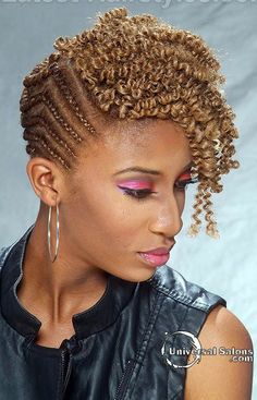 Reasons, Why You Should Wear Side Cornrows – New Natural Hairstyles Smart Hairstyles, New Natural Hairstyles, Twist Braid Hairstyles, African Braids Hairstyles, Protective Hairstyles, Protective Styles, Hot Hair Styles, Curly Hair Styles, Natural Hair Styles