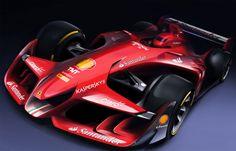 Ferrari unveils radical new F1 concept | Ferrari | Formula 1 news, live F1 | ESPN.co.uk
