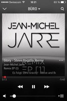 """Auf @Sonos läuft gerade """"Glory - Steve Angello Remix"""" von Jean-Michel Jarre #NowPlaying"""
