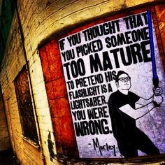 Street art. Graffiti. Art. Morley. Urban. Quote