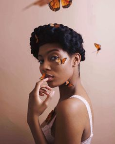 Creative Photography, Portrait Photography, Photoshoot Themes, Next Fashion, Black Girl Aesthetic, Black Women Hairstyles, Black Is Beautiful, Black Girl Magic, Pretty People