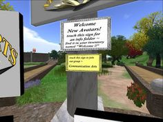Virtual worlds are making a comeback! Thanks to CM Elias.