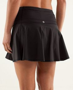 Fitness Outfits : Illustration Description Hot Hitter Skirt in black, lululemon -Read More – Tennis Outfits, Tennis Skirts, Sports Skirts, Tennis Clothes, Golfing Outfits, Nike Clothes, Tennis Dress, Women's Skirts, Athletic Skirts