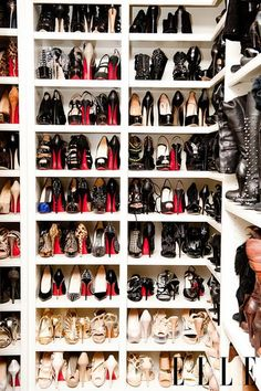 of course a place for my shoes like miss Khloe K