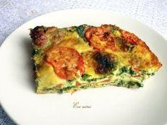 Spenótos mozzarellás lasagne Mozzarella, Quiche, Blog, Vegetarian, Dishes, Cooking, Breakfast, Easy, Board