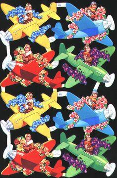 Cromos alemanes de aviones