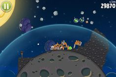 Angry Birds Space Mobile Screenshot, Angry Birds, Plates, Space, Tableware, Licence Plates, Floor Space, Dishes, Dinnerware