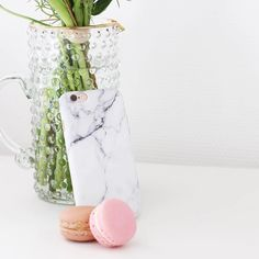 Macaron Leminimo Marble iPhone Case  pic by customer since we lost our previous account pls let us know if you're credit for this picshop link in the bio