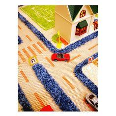 TRAFFIC 3D CARPETS | Play Rug, Toy, Creative, Imaginative, Imagination, Road, Car | UncommonGoods...I wish