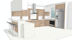ECO KITCHEN #2 - 3D Warehouse
