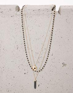 Necklaces - Jewellery - WOMAN - Accessories - Bershka Tunisia