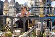 Many epic movie scenes use miniature sets and film it so it all looks life-size. It's simpler than only relying on CGI…and it's simpler than actually building Hogwarts Castle or G… Famous Movie Scenes, Famous Movies, Iconic Movies, Blockbuster Movies, Hollywood, Titanic, Train Miniature, Miniature Crafts, Movie Posters