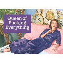 Kitsch.fi - Magneetti hmb, Queen of fucking everything