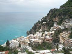 Positano Italy from our balcony