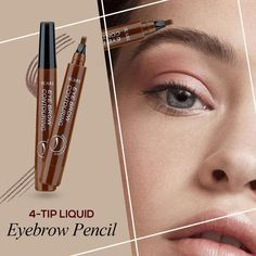 Highly comfortable, Natural Tattoo EyeBrow Pen features a micro-fork tip applicator that creates hair-like strokes for brows that last all day. Get the perfect eyebrow daily with in seconds. Get perfectly-defined, natural-looking brows that last all day. FEATURES: Waterproof, Smudge-proof, 24-Hour Long-lasting Ink formula Super-saturated shades that will suit any eyebrow color 80% of the women today using any kind of makeup on their eyebrows. Hair-like strokes with a soft matte finish, for a…