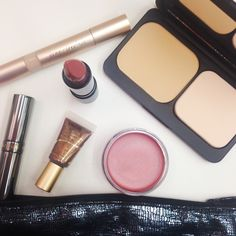 Need make up that's quick and fast during the morning rush? Jane Iredale and YoungBlood have great blushes, eyeshadows and pressed powders for you to choose from.