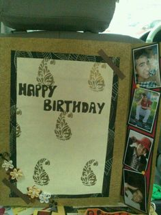 birthday card for my brother..loved it