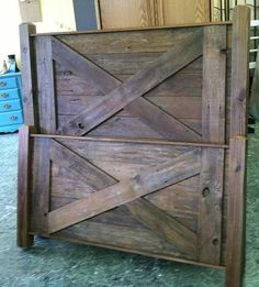 Reclaimed Wood Furniture/solid Wood Bed/rustic Furniture/bed Frame/bedroom…