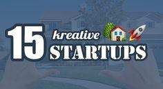 15 kreative Immobilien Startups