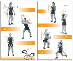 Resistance band excersices