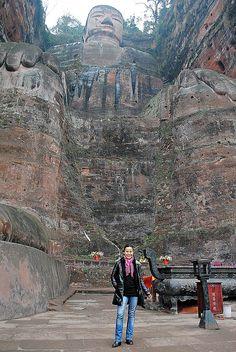 El Buda de Leshan, China