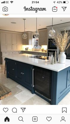 Ikea Play Kitchen Hack - 'just A Little' Tom Howley Kitchen images ideas from Kitchen Decoration Ideas Ikea Play Kitchen, Kitchen Family Rooms, Living Room Kitchen, Home Decor Kitchen, Kitchen Interior, New Kitchen, Home Kitchens, Grey Kitchen Floor, Barn Kitchen