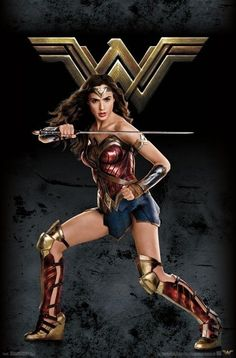 This DC Comics Justice League - Wonder Woman poster is sure to make you a superhero. Carry any room to greatness with this poster from the Justice League collection. Wonder Woman Pictures, Wonder Woman Art, Wonder Woman Comic, Gal Gadot Wonder Woman, Wonder Women, Wonder Woman Cosplay, Superman Wonder Woman, Marvel Dc, Dc Comics