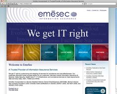 www.emesec.net  Services: HTML, CSS, WordPress