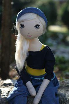 Wanessa – roma fajna :), handmade doll by romaszop