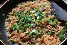 I have quite a few varieties or chicken, fish & mutton recipes. But the one thing which i dont have much collection is prawns. Prawns Fry, Spicy Prawns, Grilled Prawns, Spicy Recipes, Shrimp Recipes, Meat Recipes, Chicken Recipes, Salmon Rice Bowl Recipe, Prawn Fried Rice