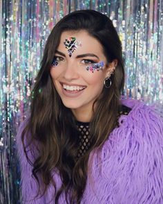THE GYPSY SHRINE FACE JEWELS AND GLITTER!! #festival #fashion #makeup #glitter #glastonbury #coachella #thegypsyshrine