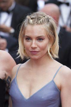 Sienna Miller se despide de Cannes con un vestido que sólo ella podía defender…