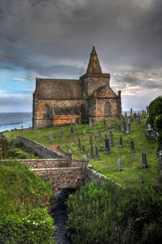 St Monans church East Neuk, Fife Scotland